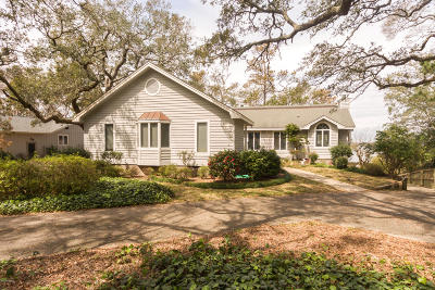Pine Knoll Shores Single Family Home For Sale: 174 Oakleaf Drive
