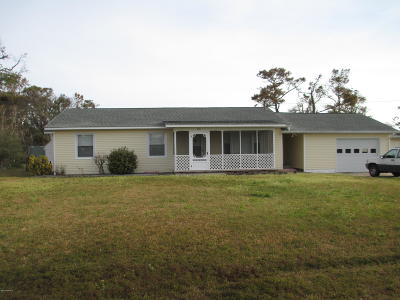 Harkers Island Single Family Home For Sale: 415 Cape Lookout Drive