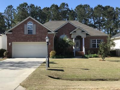 Calabash Single Family Home For Sale: 217 Ravennaside Drive NW