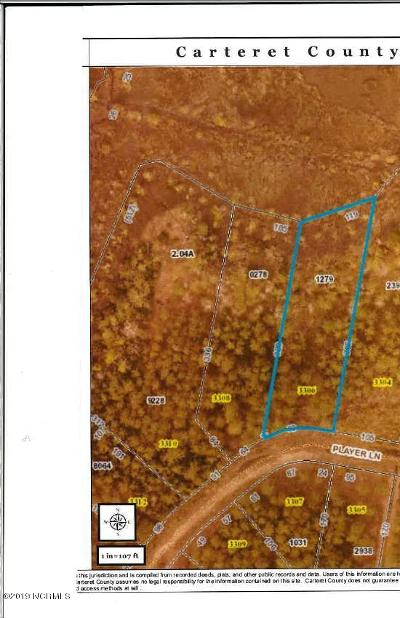 Morehead City Residential Lots & Land For Sale: 3306 Player Lane