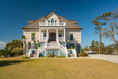 Newport Single Family Home For Sale: 422 Safe Harbour Harbor