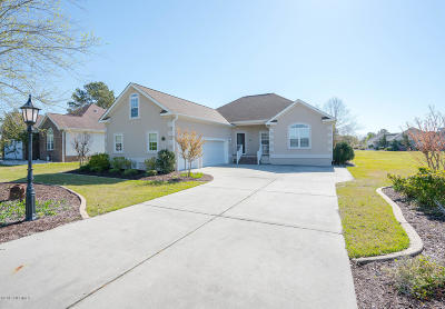 Calabash Single Family Home For Sale: 210 Monmouth Drive NW