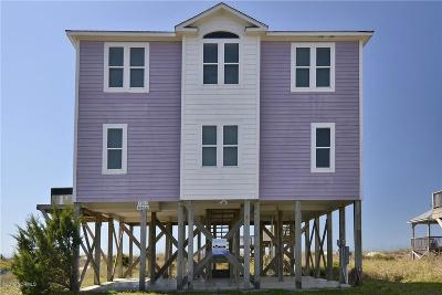 Oak Island Single Family Home For Sale: 7507 E Beach Drive