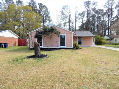Jacksonville Single Family Home For Sale: 606 Brynn Marr Road