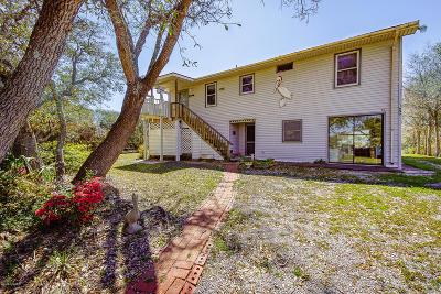 Oak Island Single Family Home For Sale: 1607 E Pelican Drive