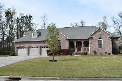 New Bern Single Family Home For Sale: 303 Neuse Harbour Boulevard