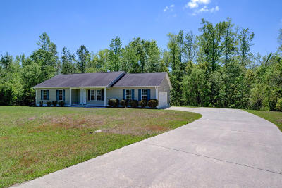 Jacksonville NC Single Family Home For Sale: $153,500