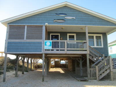 Oak Island Single Family Home For Sale: 2503 W Beach Drive