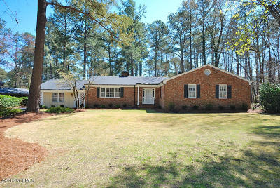 Rocky Mount Single Family Home For Sale: 3909 Hawthorne Road