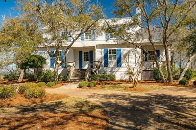 Atlantic Beach Single Family Home For Sale: 114 Hoop Pole Creek Drive