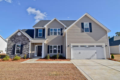 Jacksonville Single Family Home For Sale: 609 Cray Cove