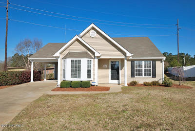 Rocky Mount Single Family Home For Sale: 6900 Moss Creek Way
