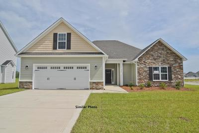 Jacksonville Single Family Home For Sale: 611 Cray Cove
