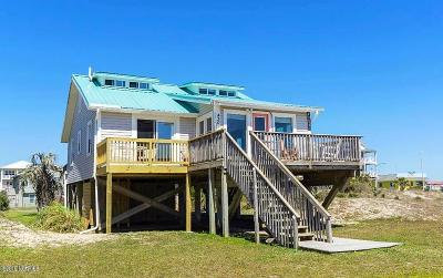 Oak Island Single Family Home For Sale: 4309 E Beach Drive