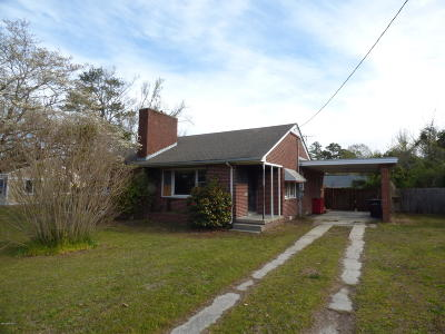 Onslow County Single Family Home For Sale: 114 Elizabeth Street