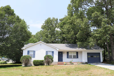 Jacksonville Single Family Home For Sale: 401 Ruddy Court