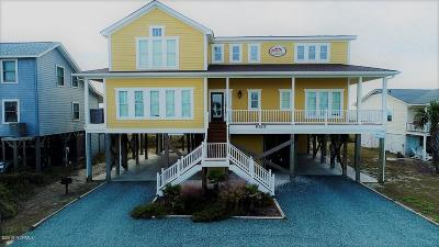 Holden Beach Island, Holden Beach Mainland Single Family Home For Sale: 1023 Ocean Boulevard W