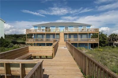 Emerald Isle Condo/Townhouse For Sale: 8709 Ocean View Drive #E