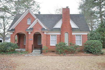 Rocky Mount Single Family Home For Sale: 1401 W Thomas Street
