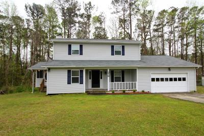 Havelock NC Single Family Home For Sale: $209,900