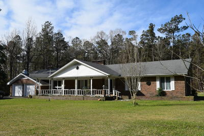 Beaufort Single Family Home For Sale: 1156 S River Road