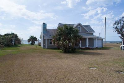 Harkers Island Single Family Home For Sale: 742 Island Road