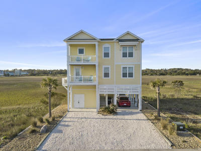 Holden Beach Single Family Home For Sale: 520 Ocean Boulevard W
