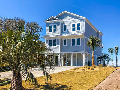 Topsail Beach Single Family Home For Sale: 450c N Anderson Boulevard