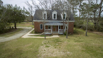 Beaufort Single Family Home For Sale: 2877 Hwy 70 Beaufort