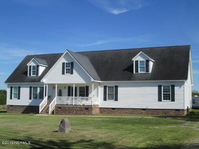 Nash County Single Family Home For Sale: 17191 Watson Seed Farm Road