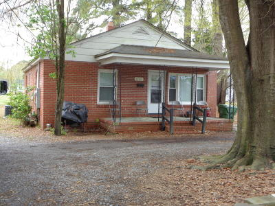 Farmville Single Family Home For Sale: 3540 S Waverly Street