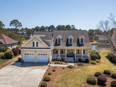 Southport Single Family Home For Sale: 3661 Players Club Drive