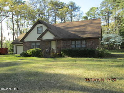 Edgecombe County Single Family Home For Sale: 2206/2204 McNair Road