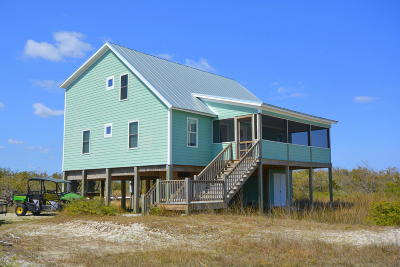 Cedar Island NC Single Family Home For Sale: $289,000