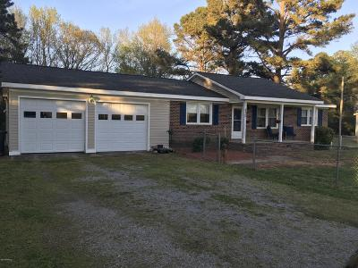 Edgecombe County Single Family Home For Sale: 402 Batts Chapel Road