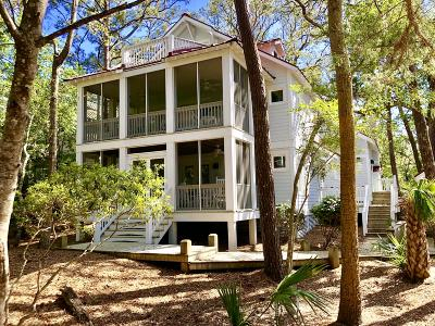 Brunswick County Single Family Home For Sale: 308 N Bald Head