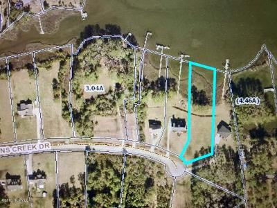 Smyrna Residential Lots & Land For Sale: 123 Middens Creek Drive