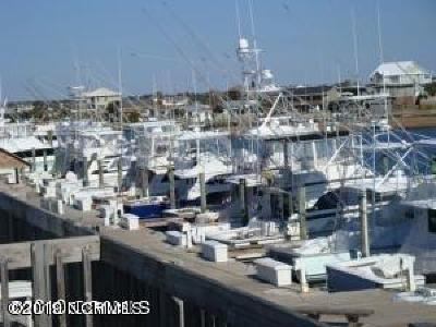 Atlantic Beach Boat Slip For Sale: 400 Atlantic Beach Causeway Causeway
