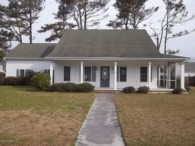 Beaufort Single Family Home For Sale: 126 Plantation Circle