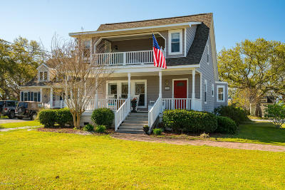 Beaufort NC Single Family Home For Sale: $550,000