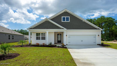 Carolina Shores Single Family Home For Sale: 157 Calabash Lakes Boulevard #1739 Lit