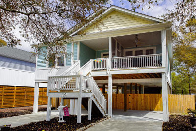Oak Island Single Family Home For Sale: 102 NE 10th Street