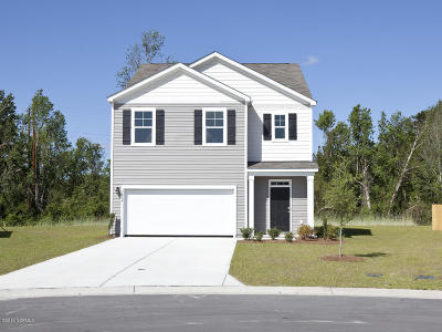 Wilmington Single Family Home For Sale: 7004 Bayou Way #Lot 49