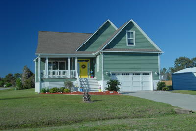 Beaufort Single Family Home For Sale: 201 Gull Court