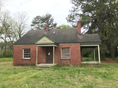 Edgecombe County Single Family Home For Sale: 1414 Branch Street