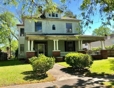 Edgecombe County Single Family Home For Sale: 805 St Andrew Street