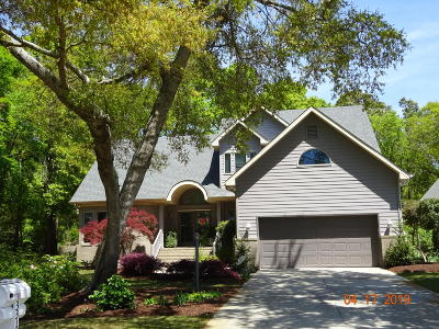 Holden Beach Island, Holden Beach Mainland Single Family Home For Sale: 3310 Channelside Drive SW