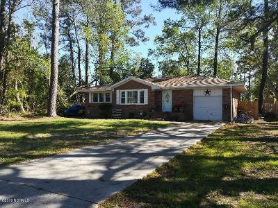 Onslow County Single Family Home For Sale: 16 Wardola Drive
