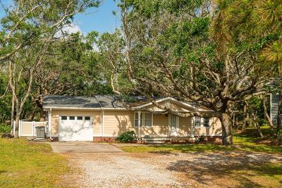 Pine Knoll Shores Single Family Home For Sale: 103 Cedar Road