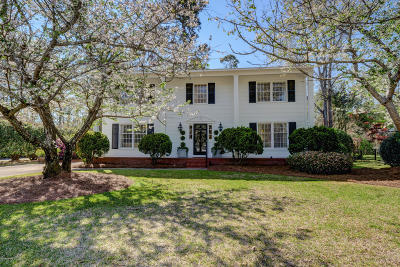 New Hanover County Single Family Home For Sale: 1936 Hawthorne Road
